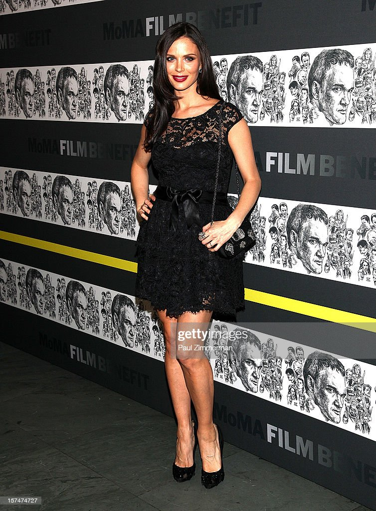 <a gi-track='captionPersonalityLinkClicked' href=/galleries/search?phrase=Georgina+Chapman&family=editorial&specificpeople=583945 ng-click='$event.stopPropagation()'>Georgina Chapman</a> attends A Tribute To Quentin Tarantino at MOMA on December 3, 2012 in New York City.