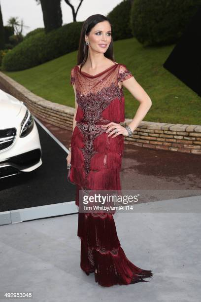 Georgina Chapman attends amfAR's 21st Cinema Against AIDS Gala Presented By WORLDVIEW BOLD FILMS And BVLGARI at Hotel du CapEdenRoc on May 22 2014 in...