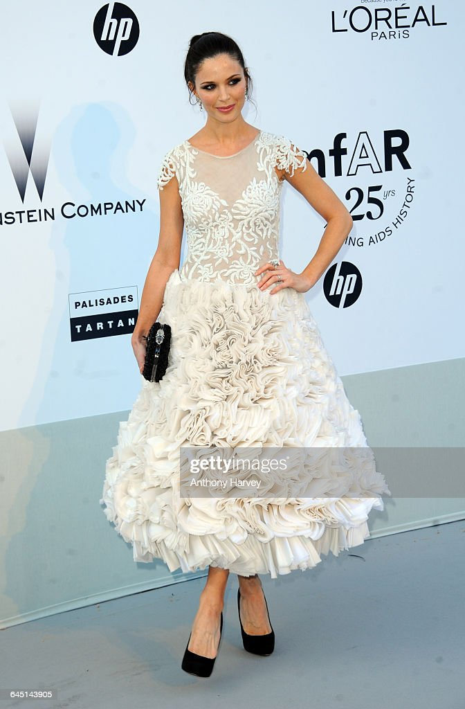 Georgina Chapman attends amfAR's Cinema Against AIDS Gala during the 64th Annual Cannes Film Festival at Hotel Du Cap on May 19 2011 in Antibes France