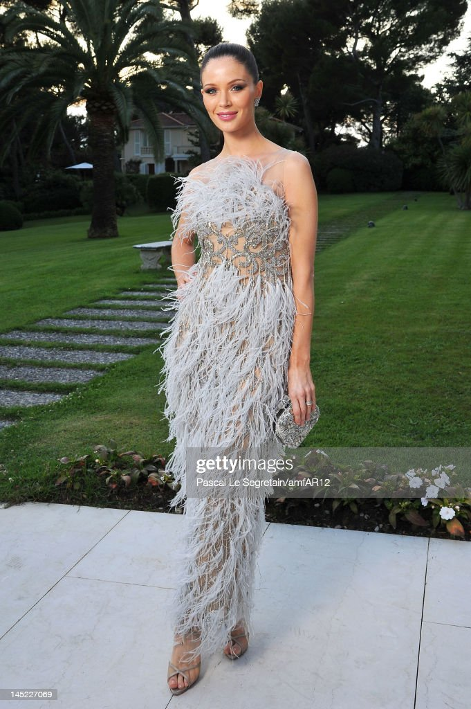 Georgina Chapman attends the 2012 amfAR's Cinema Against AIDS during the 65th Annual Cannes Film Festival at Hotel Du Cap on May 24, 2012 in Cap D'Antibes, France.