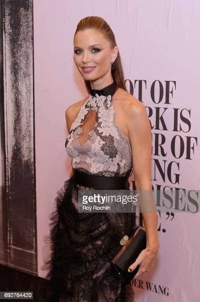 Georgina Chapman attends the 2017 CFDA Fashion Awards at Hammerstein Ballroom on June 5 2017 in New York City