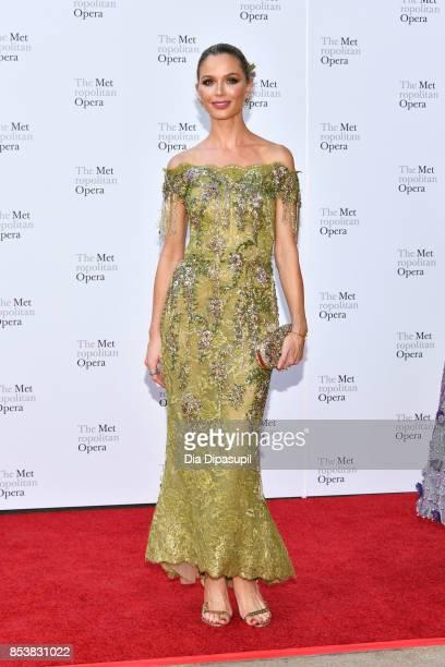 Georgina Chapman attends the 2017 Metropolitan Opera Opening Night at The Metropolitan Opera House on September 25 2017 in New York City