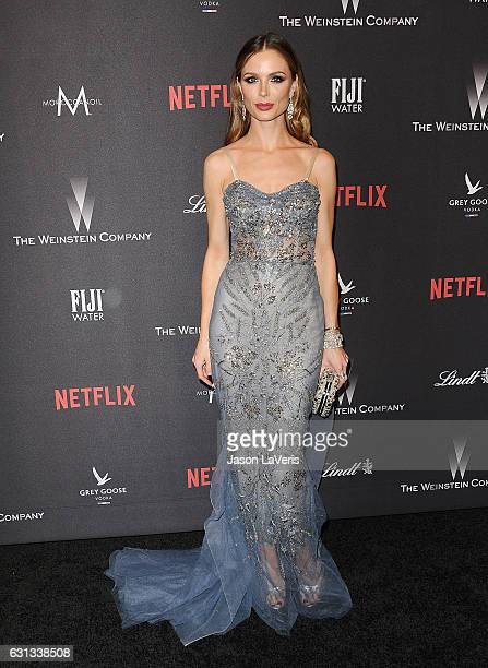 Georgina Chapman attends the 2017 Weinstein Company and Netflix Golden Globes after party on January 8 2017 in Los Angeles California