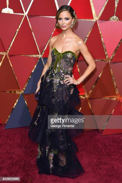 Georgina Chapman attends the 89th Annual Academy Awards at Hollywood Highland Center on February 26 2017 in Hollywood California