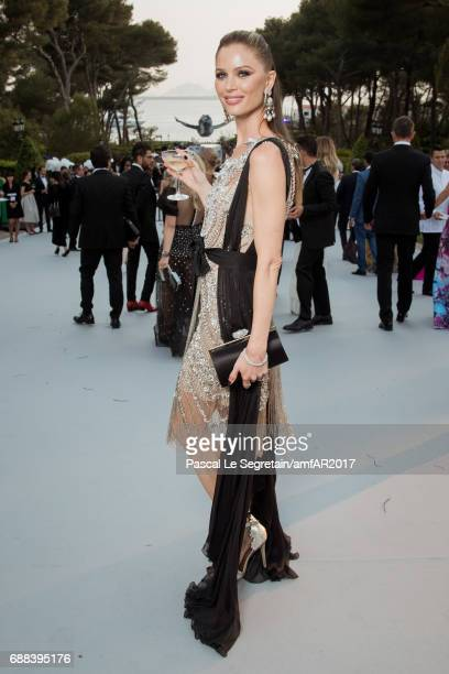 Georgina Chapman attends the amfAR Gala Cannes 2017 at Hotel du CapEdenRoc on May 25 2017 in Cap d'Antibes France