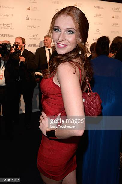 Georgina Fleur attends the Goldene Henne 2013 at Stage Theater on September 25 2013 in Berlin Germany