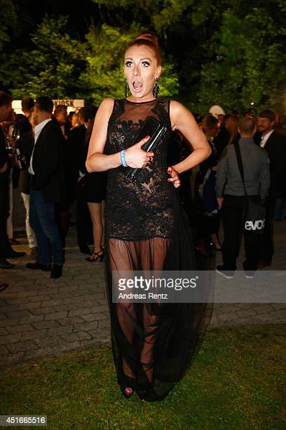 Georgina Fleur attends the Shocking Shorts Award 2014 at Amerika Haus on July 3 2014 in Munich Germany