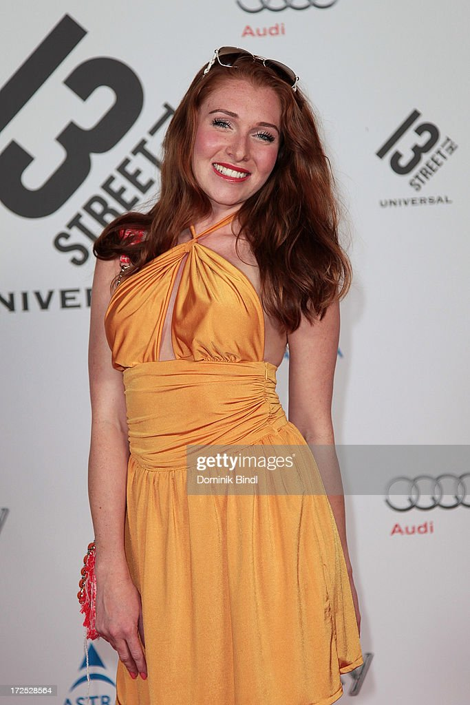 Georgina Fleur attends the Shocking Shorts Award at Galerie der Kuenstler on July 2, 2013 in Munich, Germany.