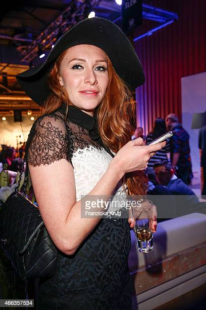 Georgina Fleur attends the Spirit of Istanbul by Yeni Raki on March 14 2015 in Berlin Germany