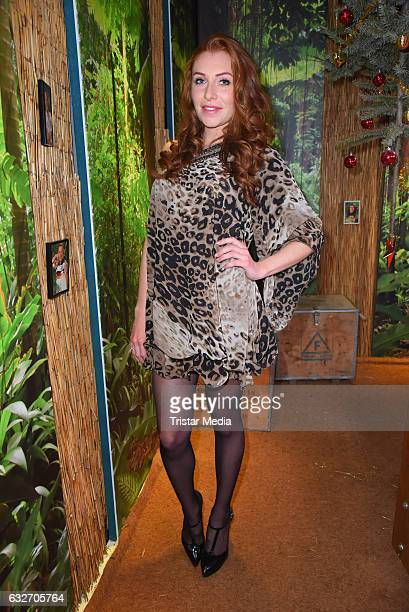 Georgina Fleur Buelowius at the 'Ich bin ein Star HOlt mich hier raus' event hosted by BILD on January 25 2017 in Berlin Germany