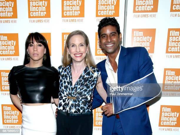 Georgina Pazcoguin ballerina Wendy Whelan and Amar Ramasar attend the 'Restless Creature Wendy Whelan' Opening Night Screening at Elinor Bunin Munroe...