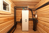 Geothermal Heating Installed in a new home