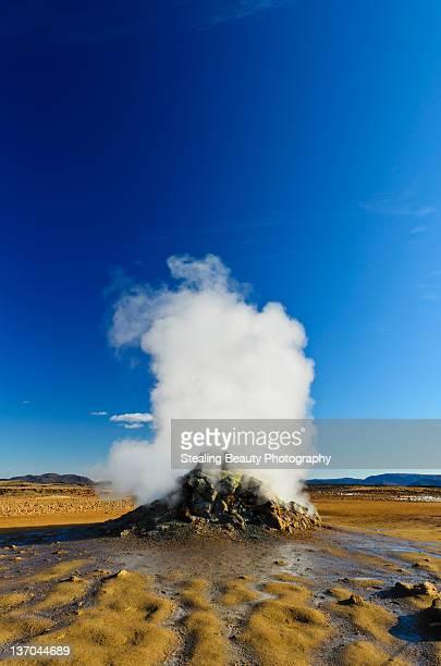 Geothermal region of  Hverir near lake Myvatn