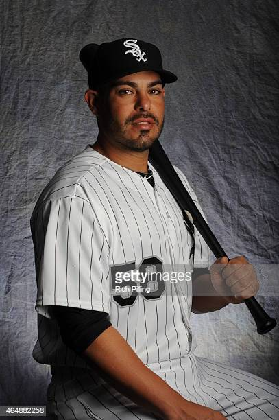 Geovany Soto of the Chicago White Sox poses for a portrait during Photo Day on February 28 2015 at Camelback RanchGlendale in Glendale Arizona