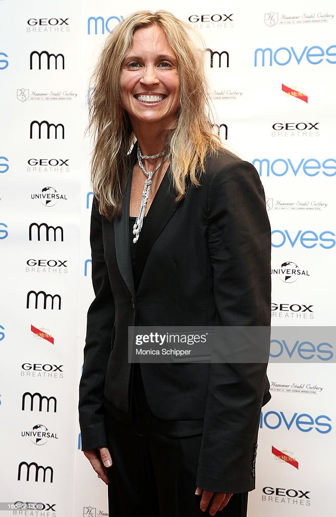 GeoxUSA COO Sharon Crabill attends the 2013 Moves Magazine Spring Fashion Cover Party on April 15, 2013 in New York City.