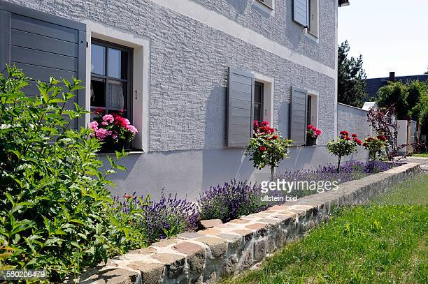 Landhaus Dubs gartenmauer stock photos and pictures getty images