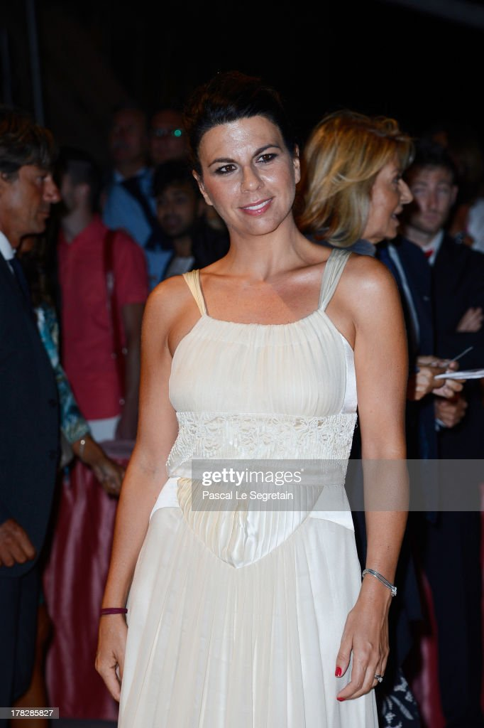 Geppi Cucciari attends the Opening Dinner Arrivals during the 70th Venice International Film Festival at the Hotel Excelsior on August 28, 2013 in Venice, Italy.