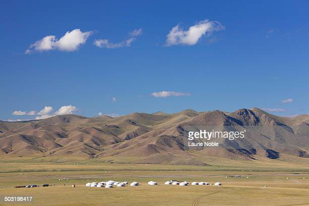 Ger camp, Orkhon Valley, Central Mongolia