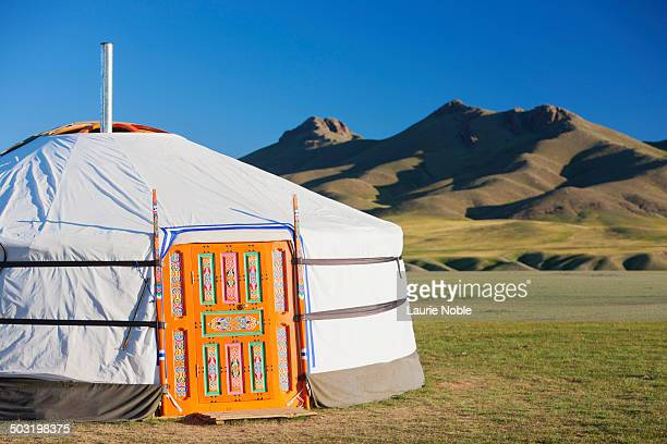 Ger in the Orkhon Valley, Central Mongolia