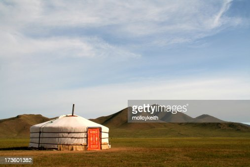 Ger Tent in Mongolia