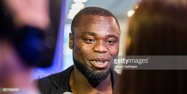 Gerald Asamoah attends the FC Schalke 04 111th Anniversary Gala at Musiktheater im Revier on September 10 2015 in Gelsenkirchen Germany