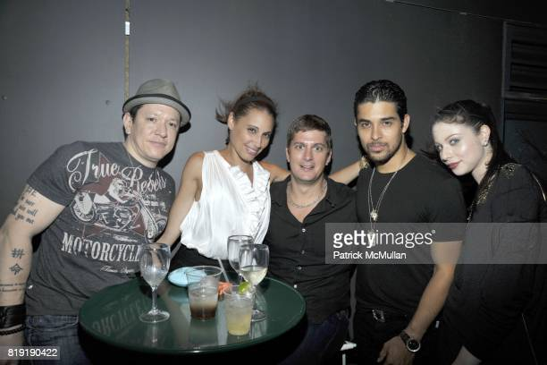 Gerald Bunsen Marisol Thomas Rob Thomas Wilmer Valderrama and Michelle Trachtenberg attend THE CINEMA SOCIETY 2IST Host The After Party for 'TWELVE'...