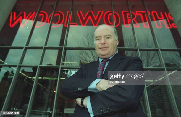 Gerald Corbett the newly appointed executive chairman of Woolworths PLC 28/8/01 Woolworth floated on the Stock Exchange It was previously owned by...