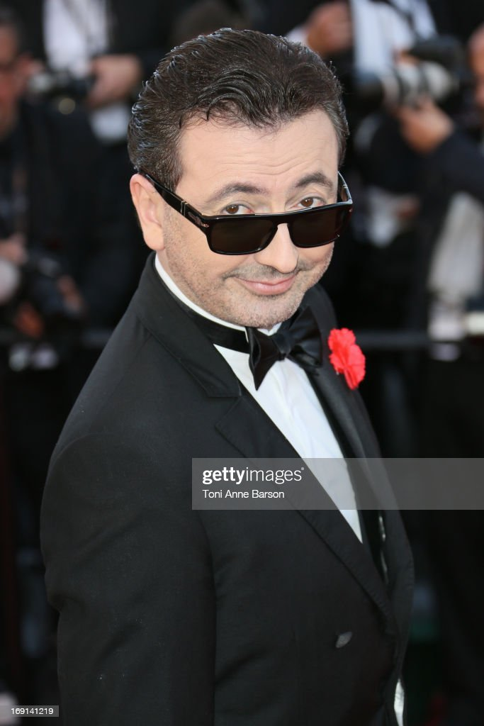Gerald Dahan attends the Premiere of 'Blood Ties' during the 66th Annual Cannes Film Festival at the Palais des Festivals on May 20, 2013 in Cannes, France.