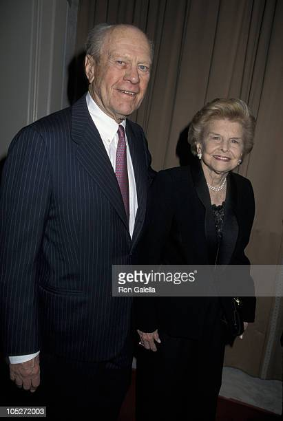 Gerald Ford And Betty Ford during A Family Celebration Second Annual Gala at Beverly Wilshire Hotel in Beverly Hills CA United States
