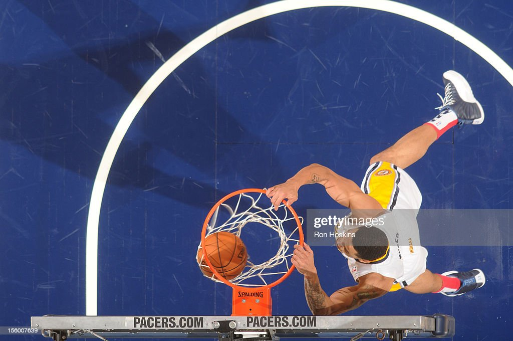 <a gi-track='captionPersonalityLinkClicked' href=/galleries/search?phrase=Gerald+Green&family=editorial&specificpeople=644655 ng-click='$event.stopPropagation()'>Gerald Green</a> #25 of the Indiana Pacers dunks the ball during the game between the Indiana Pacers and the Washington Wizards on November 10, 2012 at Bankers Life Fieldhouse in Indianapolis, Indiana.