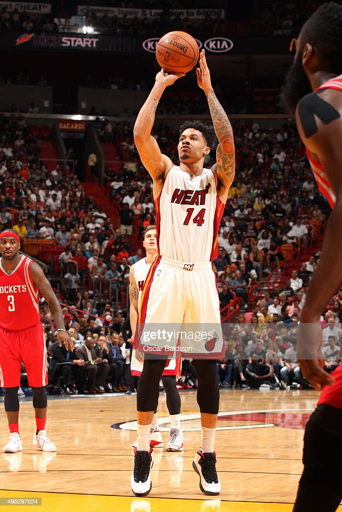 Houston rockets v miami heat getty images for Gerald green tattoo