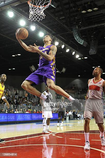 Gerald Green of the West AllStars shoots the ball against the East AllStars during the NBA Development League AllStar Game Presented By 26SECONDS on...