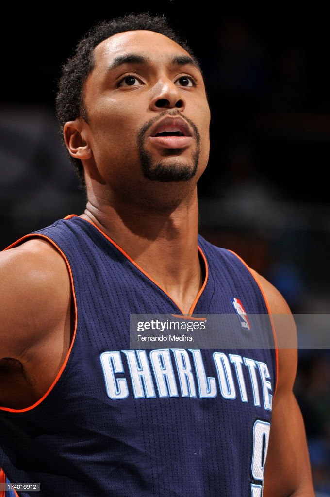 Gerald Henderson #9 of the Charlotte Bobcats looks on against the Orlando Magic during the game on February 19, 2013 at Amway Center in Orlando, Florida.