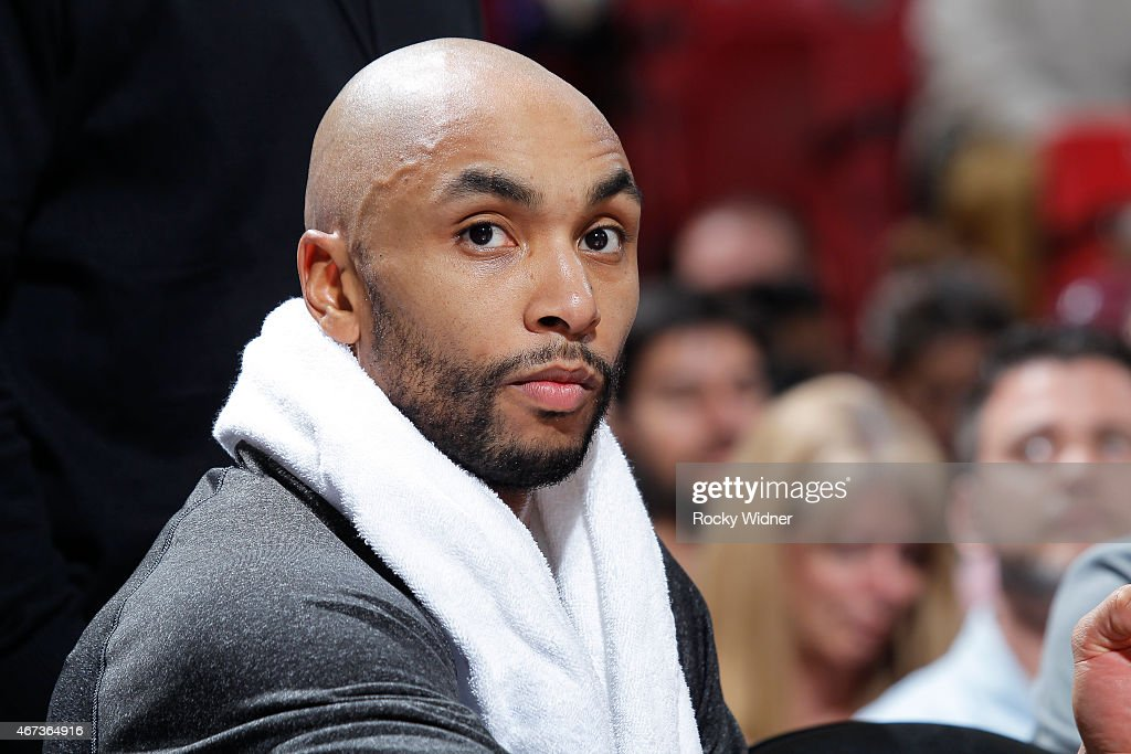 Gerald Henderson #9 of the Charlotte Hornets looks on during the game against the Sacramento Kings on March 20, 2015 at Sleep Train Arena in Sacramento, California.