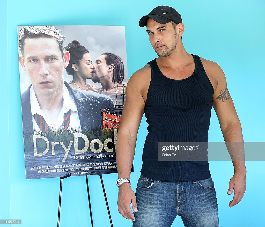 Gerald Jean Laurent attends Cinema Diverse: The Palm Springs Gay And Lesbian Film Festival Premiere Of 'Dry Dock' at Camelot Theatres on September 21, 2013 in Palm Springs, California.