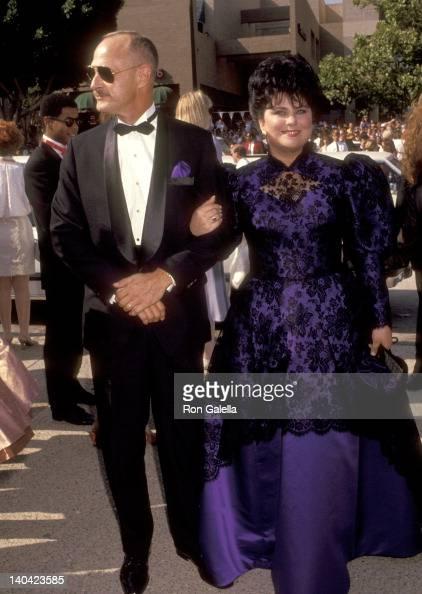 Gerald McRaney and Delta Burke at the 43rd Annual Primetime Emmy Awards Pasadena Civic Auditorium Pasadena
