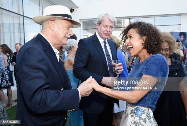Gerald McRaney Charles 9th Earl of Spencer and Gugu MbathaRaw attend the BBC America BAFTA Los Angeles TV Tea Party 2017 at The Beverly Hilton Hotel...