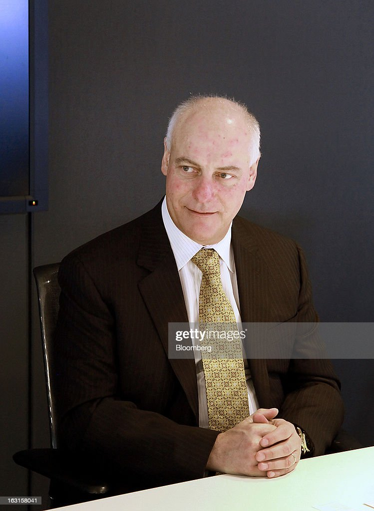 Gerald Panneton, chief executive officer of Detour Gold Corp., listens during an interview in Toronto, Ontario, Canada, on Tuesday, March 5, 2013. Detour Gold Corp. explores for and produces gold in Canada. Photographer: Reynard Li/Bloomberg via Getty Images