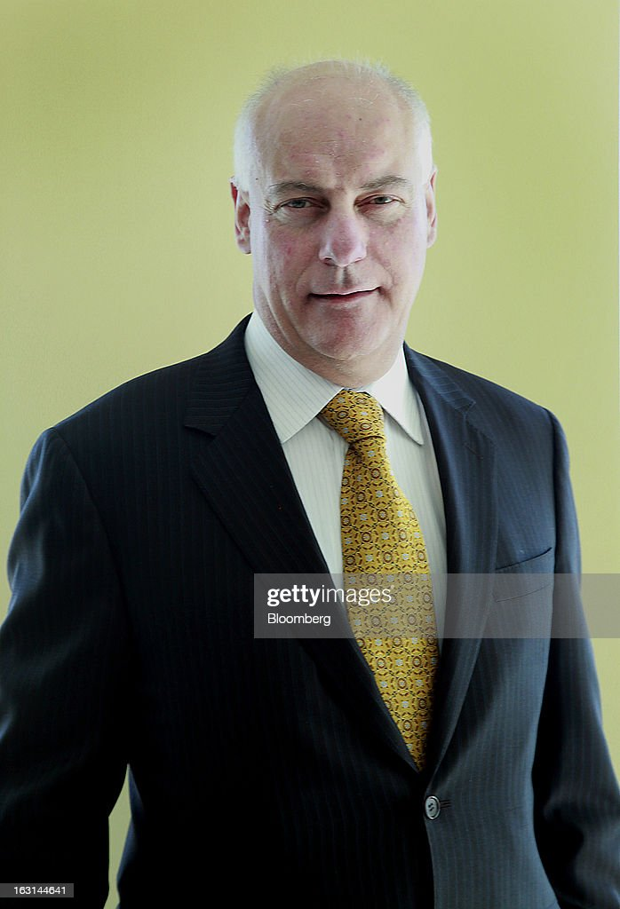 Gerald Panneton, chief executive officer of Detour Gold Corp., stands for a photograph after an interview in Toronto, Ontario, Canada, on Tuesday, March 5, 2013. Detour Gold Corp. explores for and produces gold in Canada. Photographer: Reynard Li/Bloomberg via Getty Images