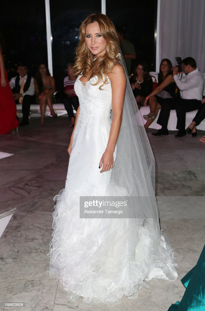 Geraldine Bazan attends Miami Hair, Beauty & Fashion 2012 By Rocco Donna at Viceroy Hotel Spa on November 8, 2012 in Miami, Florida.