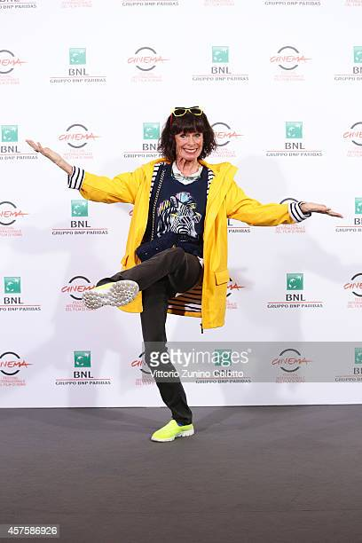 Geraldine Chaplin attends the 'Dolares De Arena' Photocall during the 9th Rome Film Festival on October 21 2014 in Rome Italy