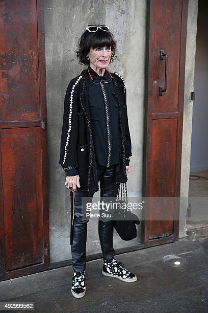 Geraldine Chaplin attends the Geraldine Chaplin's Master Class as part of theb 7th Film Festival Lumiere on October 16 2015 in Lyon France