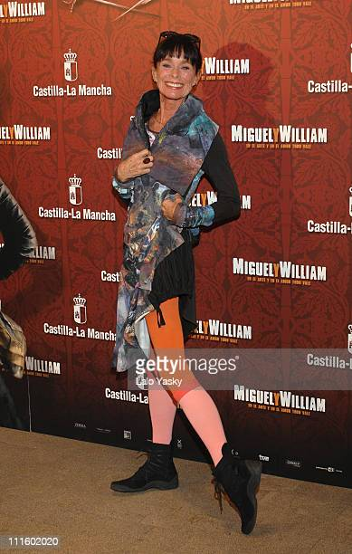 Geraldine Chaplin during 'Miguel y William' Photocall in Madrid February 1 2007 at Hesperia Hotel in Madrid Madrid Spain