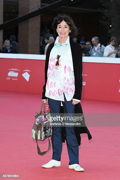 Geraldine Chaplin On the Red Carpet during the 9th Rome Film Festival on October 22 2014 in Rome Italy