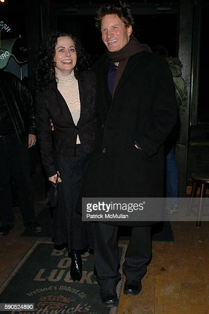 Geraldine Hughes and Ian Harrington attend Opening Night Cast Party for Belfast Blues at The Culture Project on January 20 2005 in New York City
