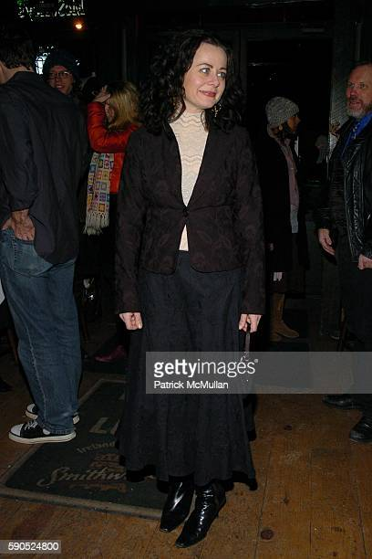 Geraldine Hughes attends Opening Night Cast Party for Belfast Blues at The Culture Project on January 20 2005 in New York City