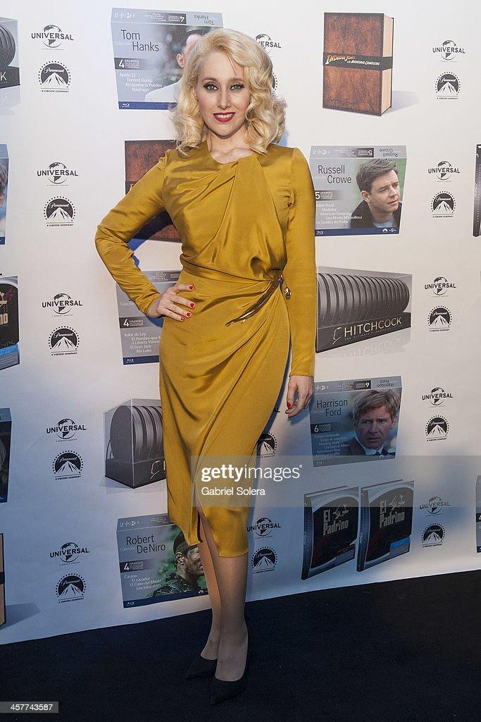 Geraldine Larrosa 'Innocence' attends Paramount Cinema Party at Tiffany's on December 18, 2013 in Madrid, Spain.