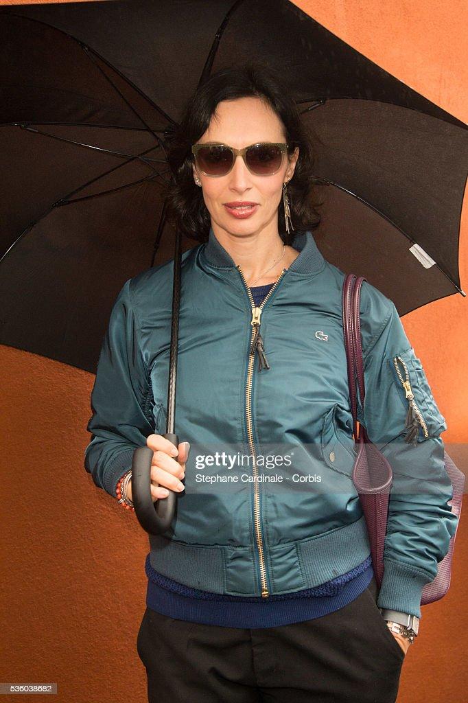 Geraldine Maillet attends day ten of the 2016 French Open at Roland Garros on May 31, 2016 in Paris, France.