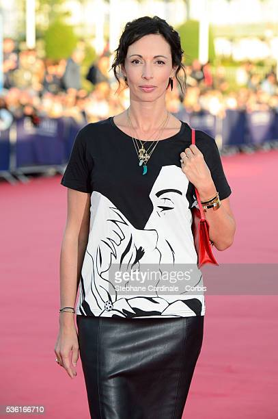 Geraldine Maillet attends the 'Jamais Entre Amis' Premiere during the 41st Deauville American Film Festival on September 6 2015 in Deauville France