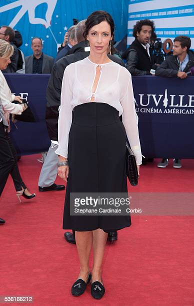 Geraldine Maillet attends the 'Life' Premiere during the 41st Deauville American Film Festival on September 5 2015 in Deauville France